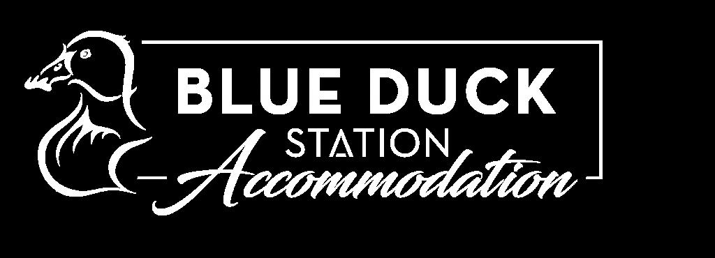 Accommodation logo white