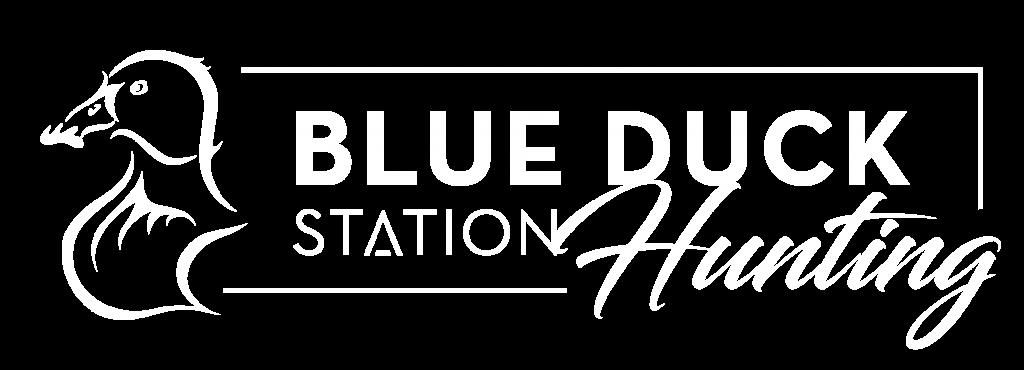 Hunting logo white